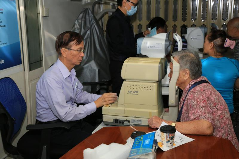 Jockey Club Age-Friendly City - Eye Health Screening